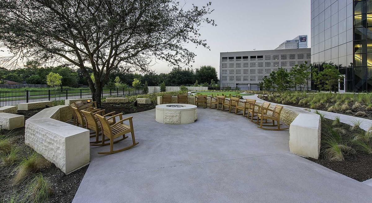 Phillips 66 Corporate Headquarters outdoor landscaping