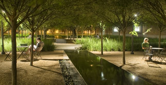 Educational Facility water features